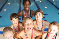 kid swimmers