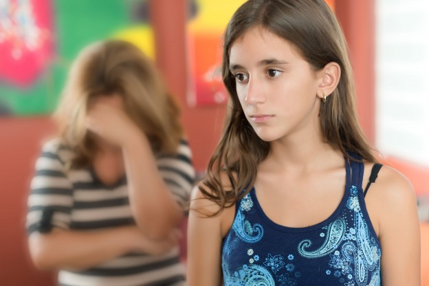 Bullied Young Girl